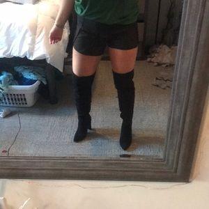 Super sexy thigh high black boots